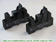 Relays for optocoupler 100+: 8─, 220VAC